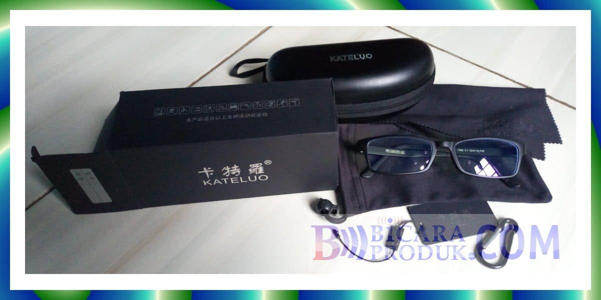 review kacamata kateluo 1302 dan 9219
