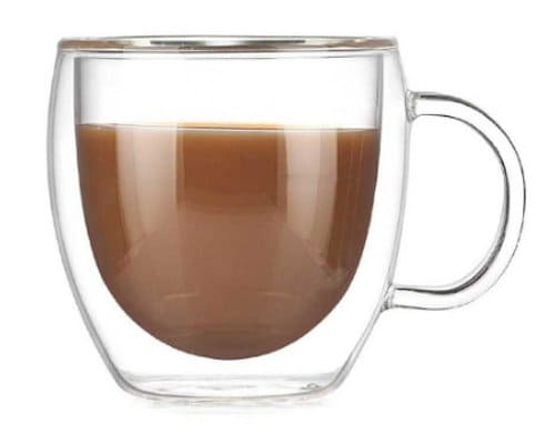 cangkir kopi double layer