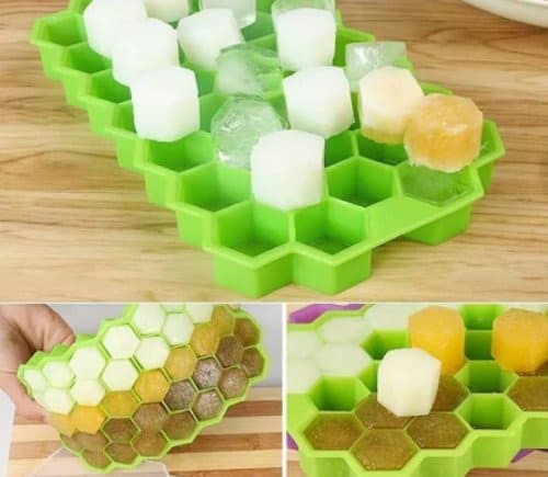 Cetakan Es Batu Silikon Honey Combs