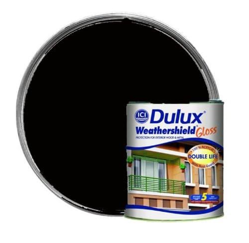 Dulux Weathershield Gloss cat luar