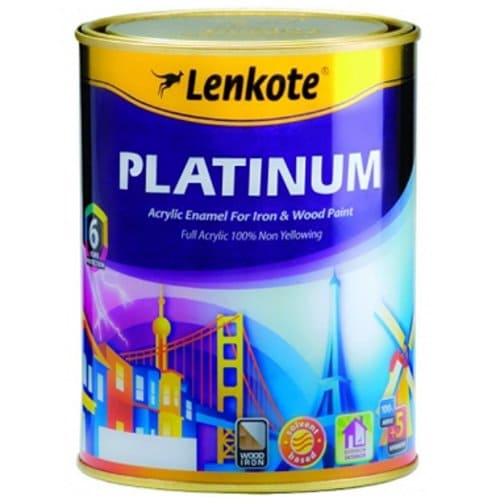 Lenkote Platinum Acrylic Enamel