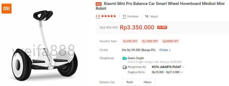 Minirobot Self Balancing Scooter Xiaomi Ninebot KW