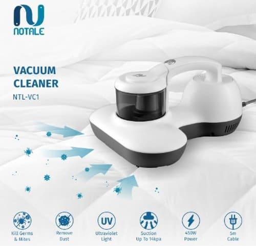 Notale UV Anti Dust Mite Vacuum Cleaner