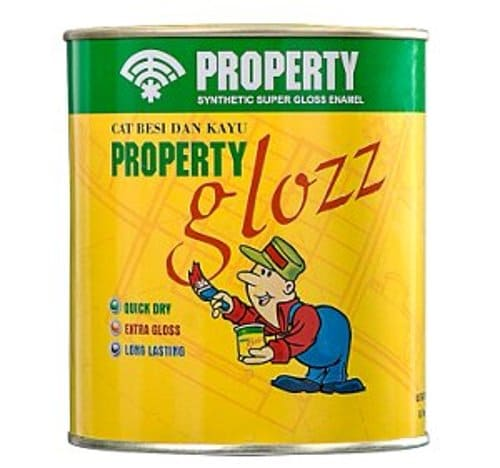 Property Glozz kansai paint terbaru