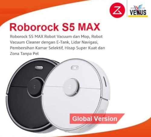 Xiaomi Roborock S5 Max Robot Vacuum Mop Cleaner