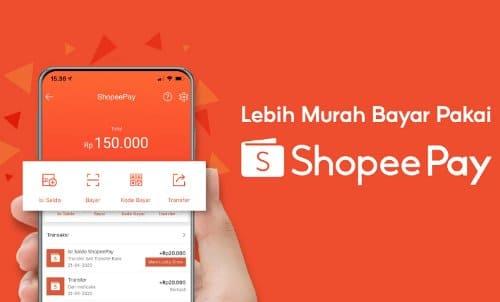 aktifkan shopeepay pembayaran cepat