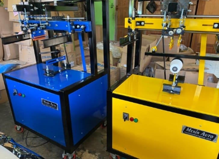 mesin sablon gelas otomatis terbaru