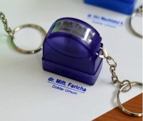 stempel nama dokter bidan dll