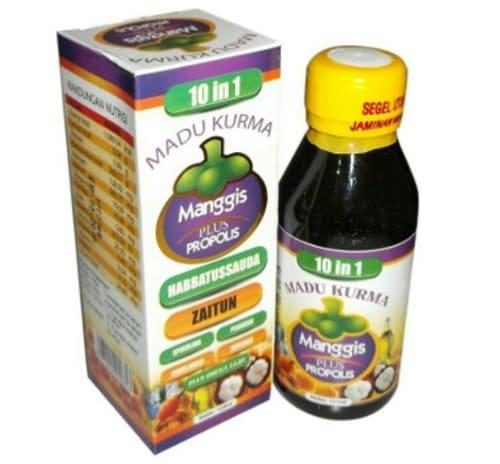 10in1 Madu Kurma Manggis Plus Propolis