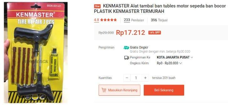 Alat Tambal Ban KenMaster
