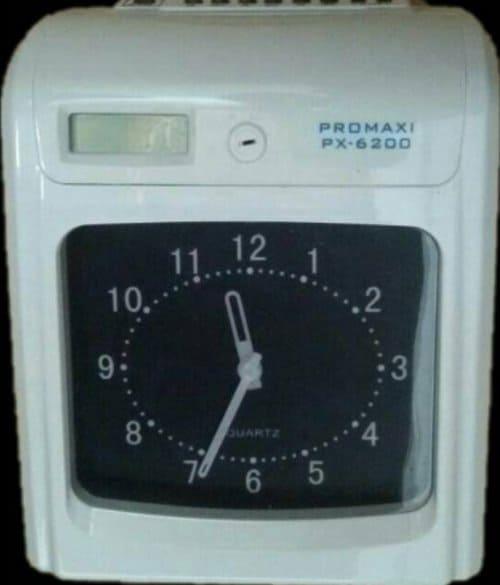 Mesin Absensi Kartu Promaxi PX-6200