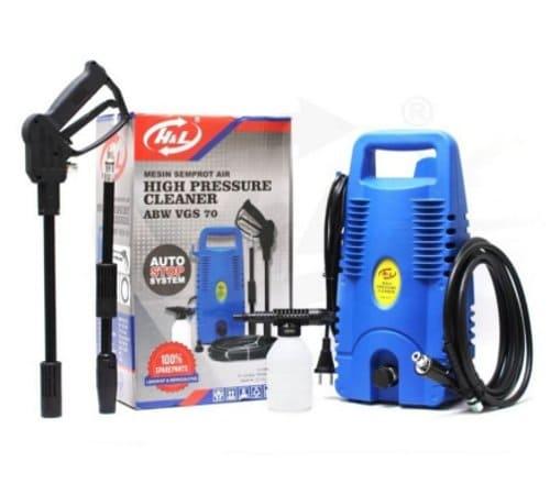 Mesin Cuci Motor dan Mobil H&L High Pressure Cleaning