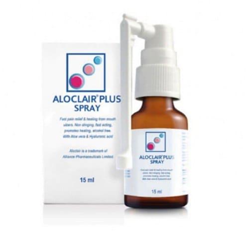 Obat Sariawan Spray Aloclair Plus