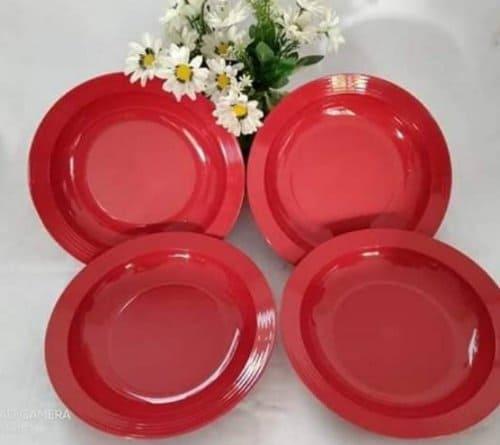 piring tupperware plastik
