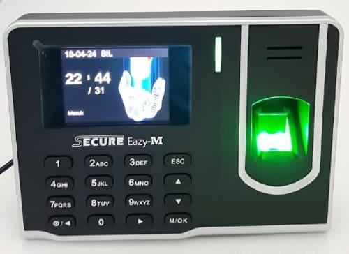 Secure Eazy-M Fingerprint Indentification System