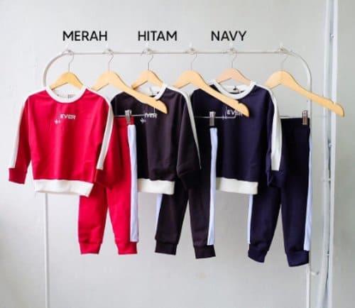 Setelan Sweater Training Anak Laki-laki