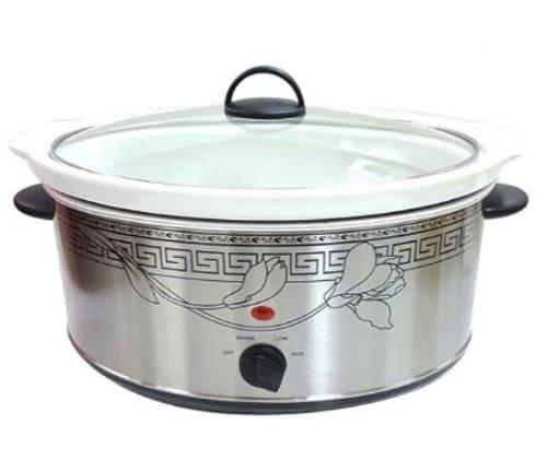 Slow Cooker Besar Vicenza Kapasitas 6.5 Liter