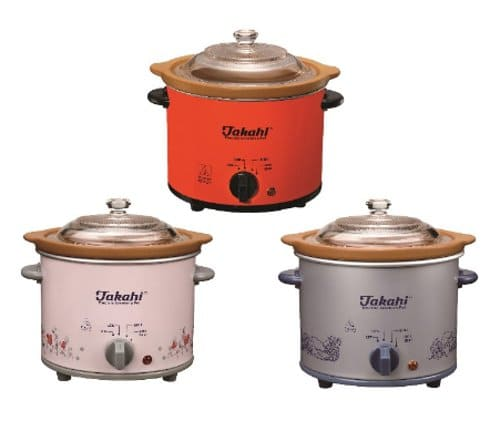 Slow Cooker Takahi Electric Crocekery Pot