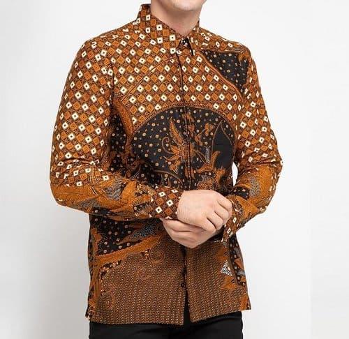 baju batik pria kemeja Arthesian Vathar