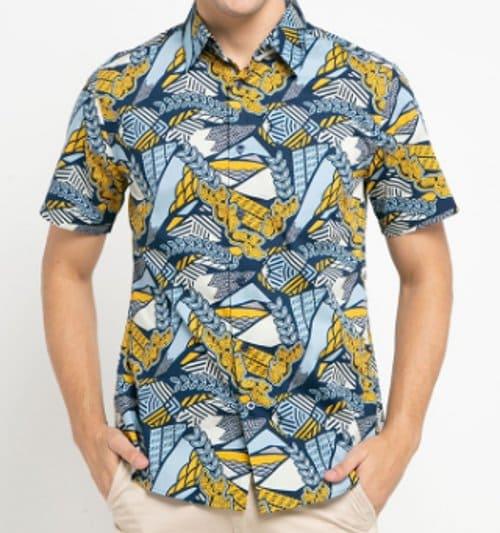 baju batik pria masa kini merk Bateeq