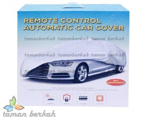 cover mobil otomatis remote control