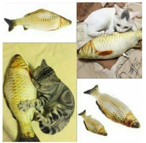 mainan kucing ikan