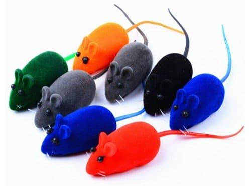 mainan kucing bentuk tikus