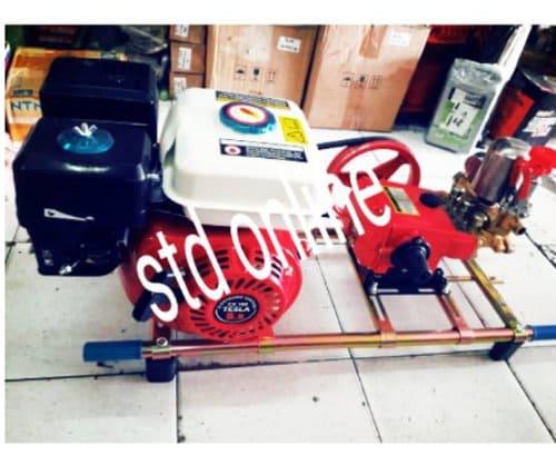 Mesin Steam mobil dan motor Satu Set Siap Pakai