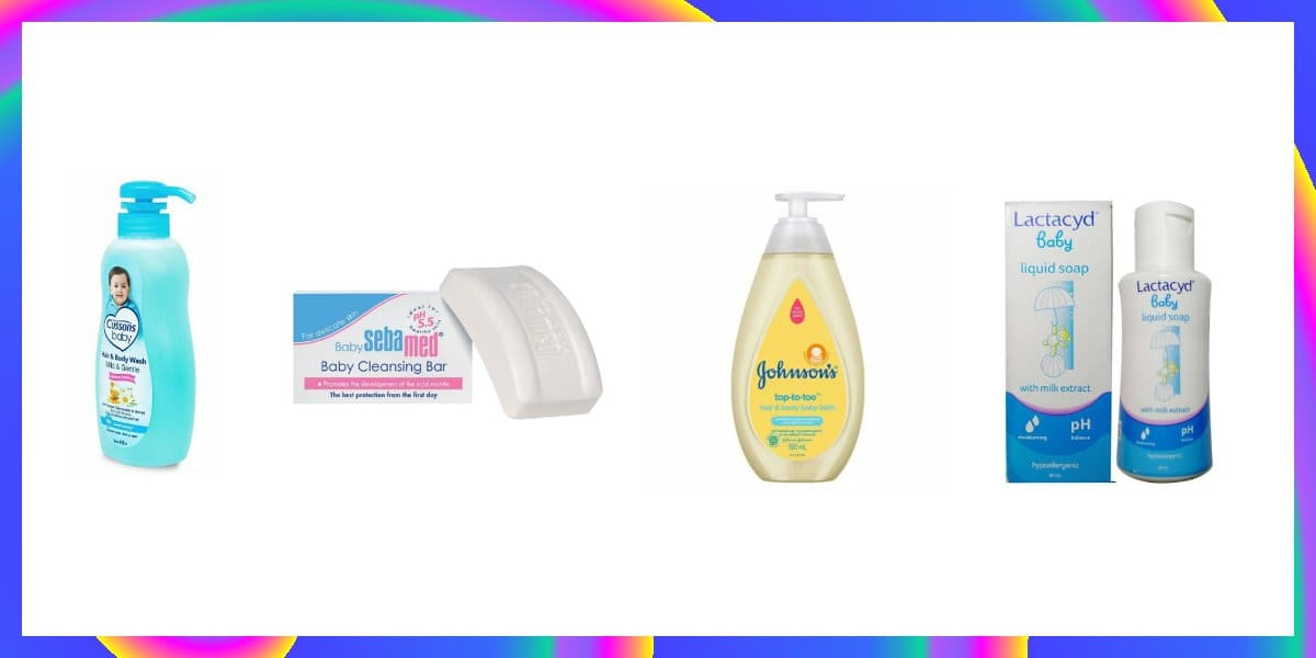 shampoo sabun bayi perlengkapan mandi terbaik