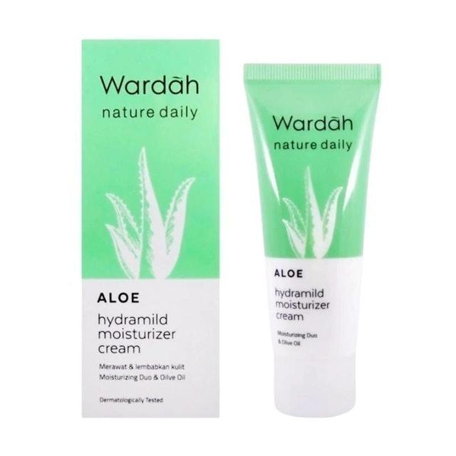 moisturizer untuk remaja wardah aloe hydramild