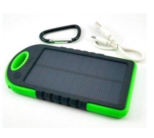 Power Bank Solar Cell Tenaga Matahari
