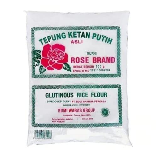 ketan putih rose brand