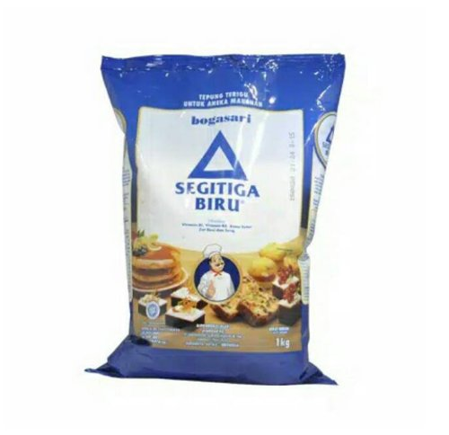 Tepung Terigu Segitiga Biru protein sedang