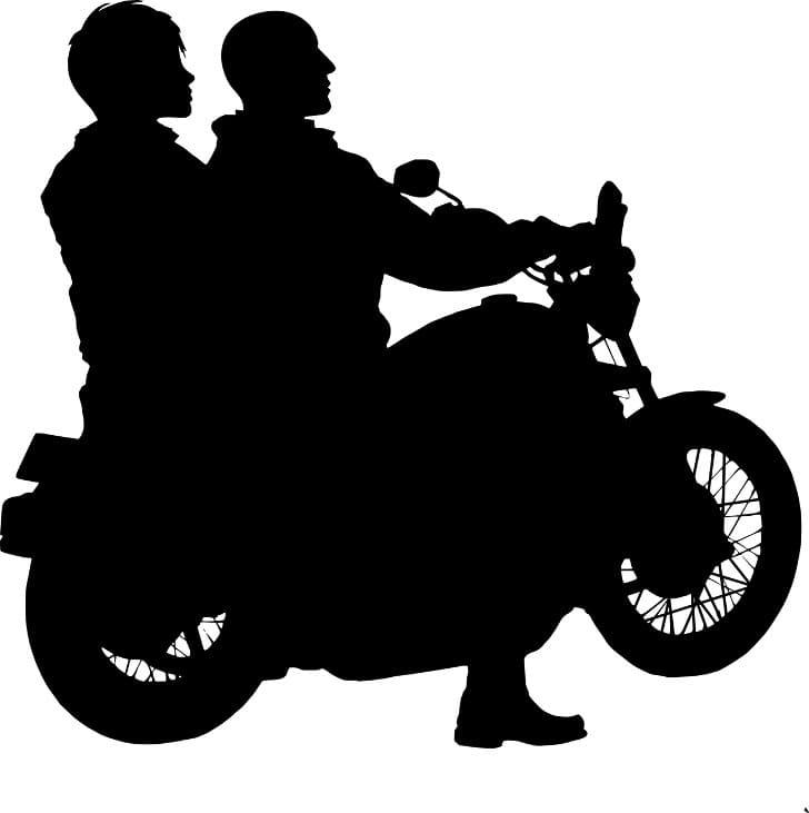 bahaya naik motor tanpa jaket
