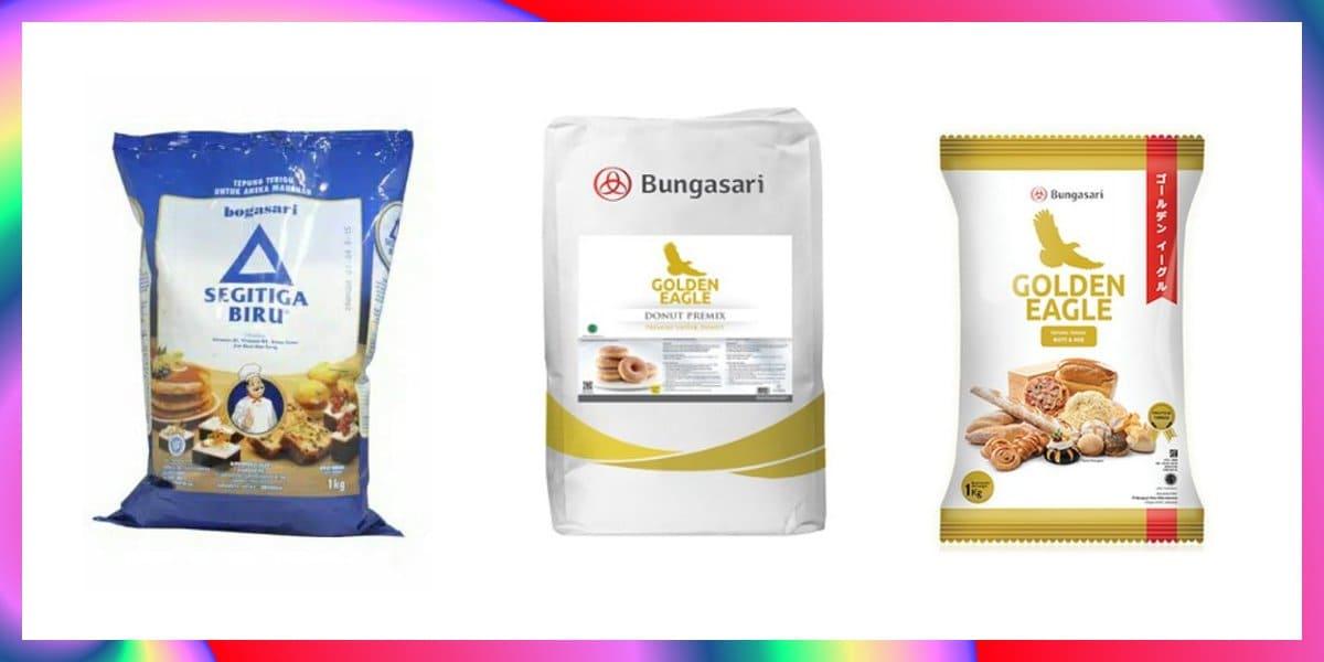 10+ Tepung Terigu Terbaik Protein Tinggi dan Rendah