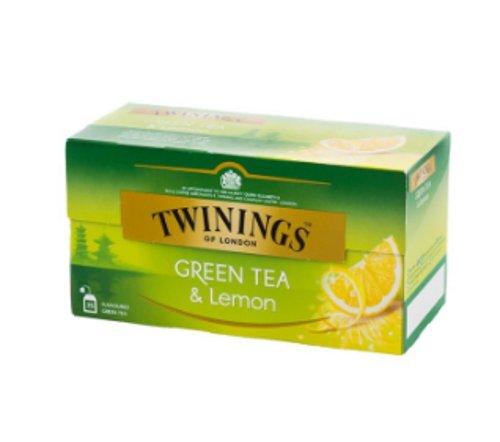 Twinings Green Tea Lemon impor
