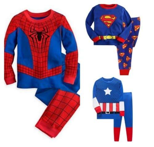 baju tidur anak karakter super hero