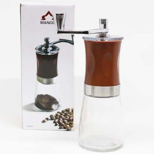 gilingan kopi jadul kaca transparan