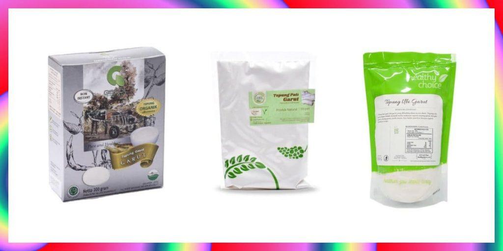 tepung garut terbaik untuk asam lambung