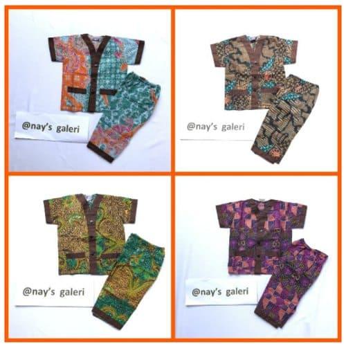 piyama batik untuk anak