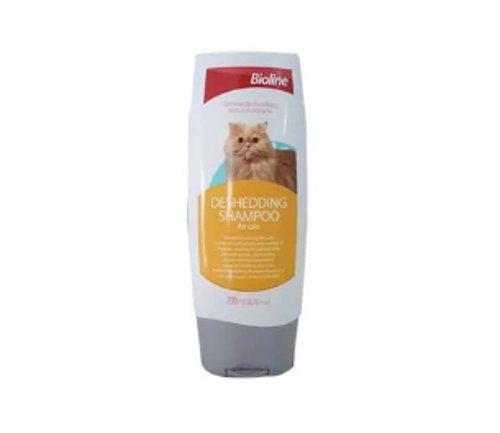 Bioline Deshedding Shampoo for Cats