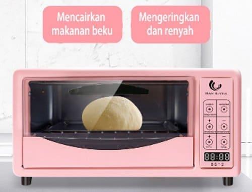 oven listrik digital layar sentuh murah