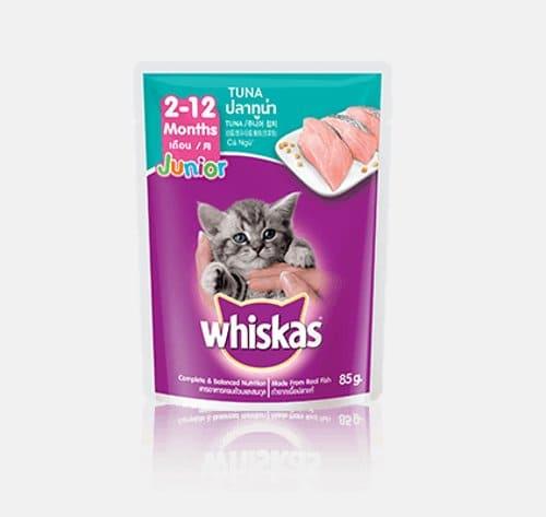 Whiskas Junior Anak Kucing 2-12 Bulan