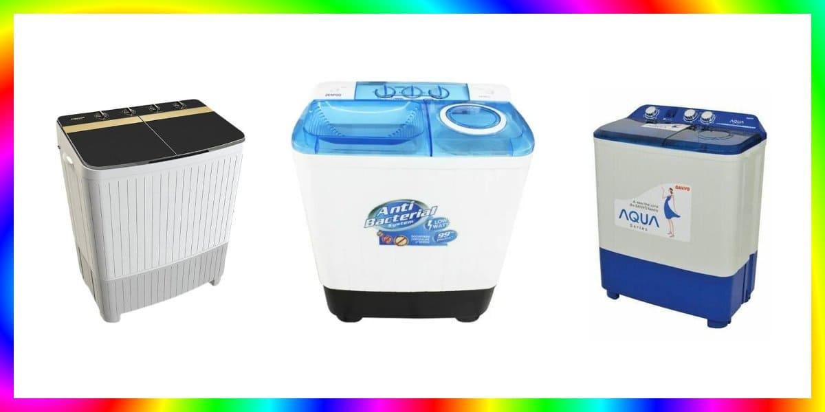 7 Mesin Cuci 2 Tabung Terbaik Harga 1 Jutaan