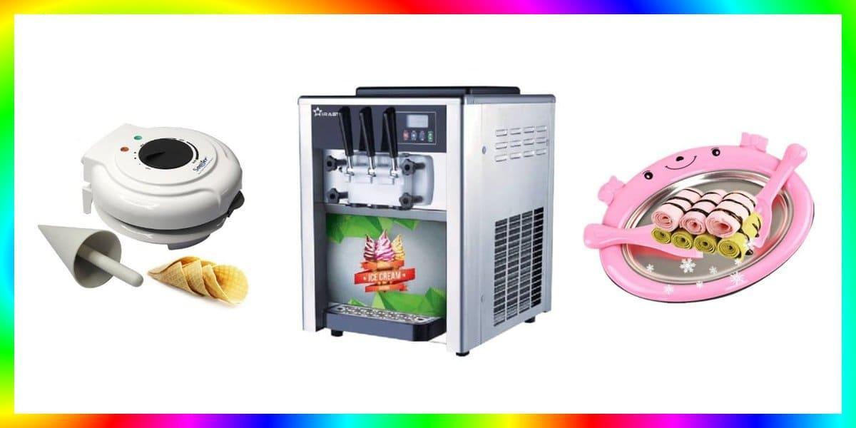 7 Mesin Es Krim Terbaik Manual dan Otomatis