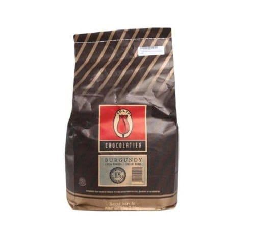 tulip burgundy cacao powder