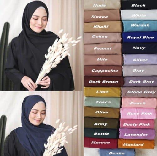 Hijab Pashmina Diamond harga murah
