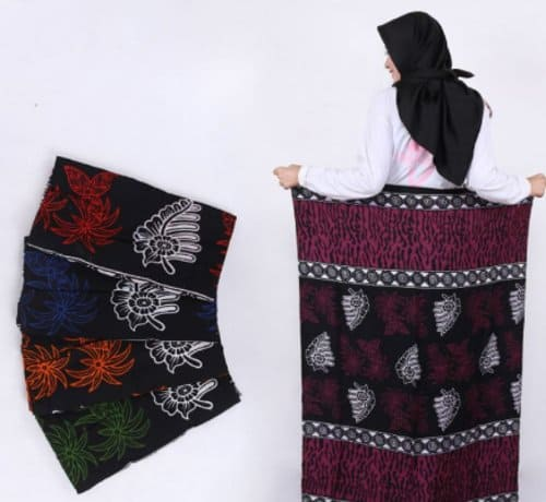 sarung santri putri batik
