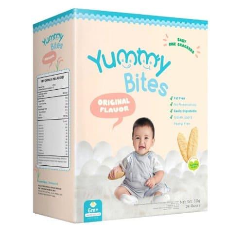 Snack Bayi Semi Padat Yummy Bites