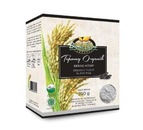 tepung beras hitam mpasi organik